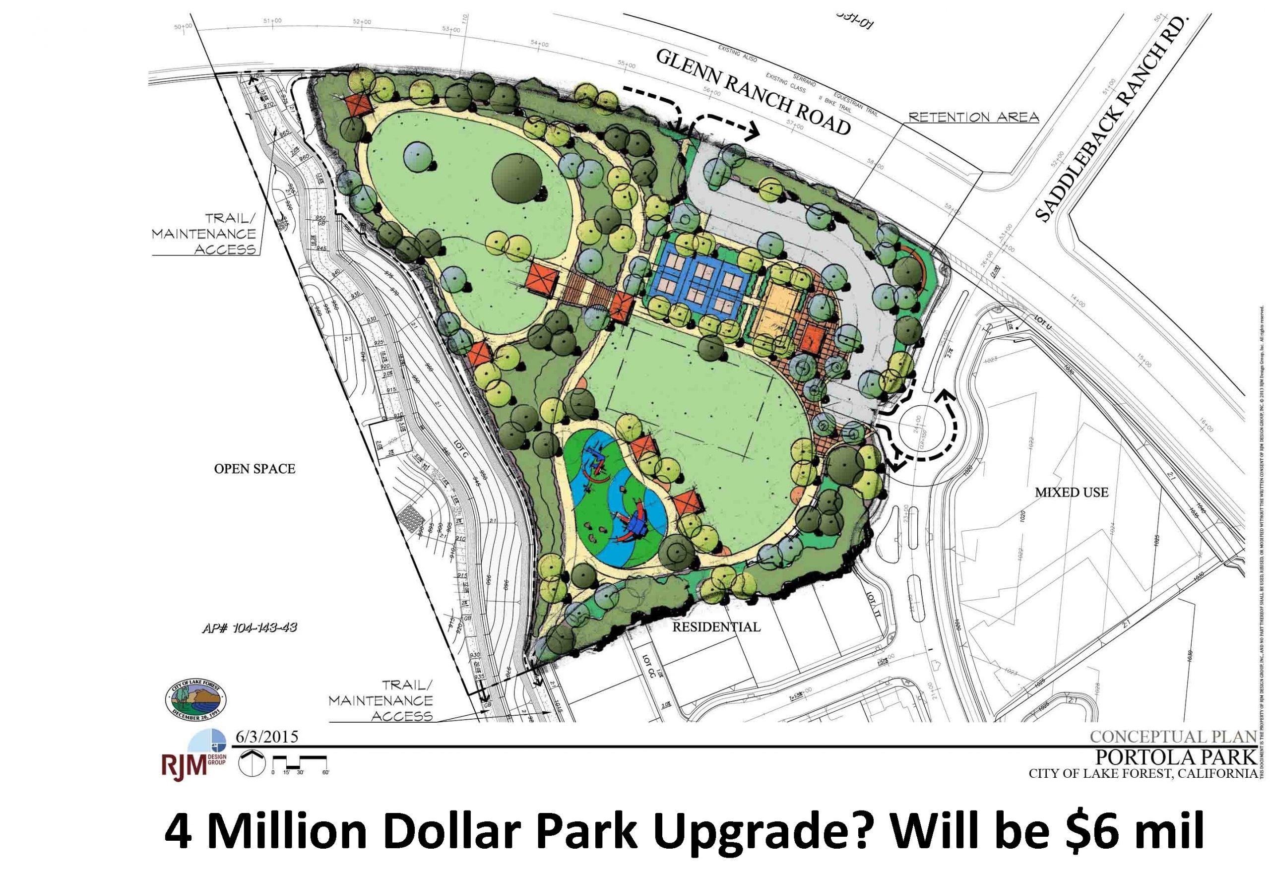 $4 Milon Dollar Park Upgrade